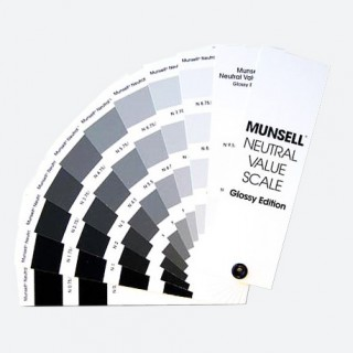 Munsell Neutral Value Scale – Glossy Finish M50130 (Latest Ed.)