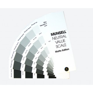 Munsell Neutral Value Scale - Matte Finish M50135 (Latest Ed.)