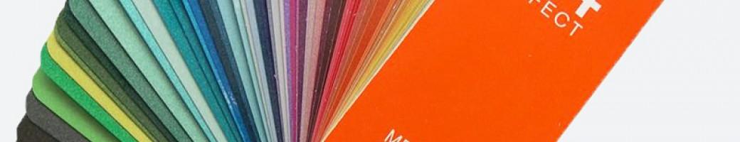 RAL Metallic Color Charts