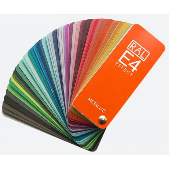 RAL E4 Colour Fan Chart With 70 RAL EFFECT Metallic Colors (Latest Ed.)