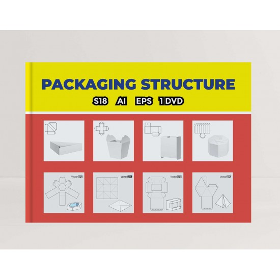 s18 Packaging Structure Design with Dvd