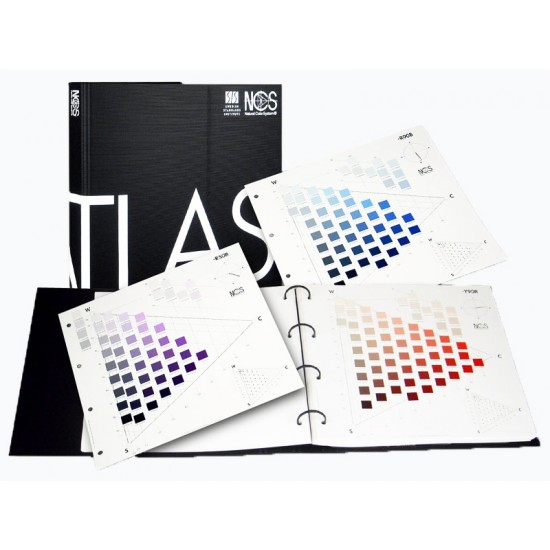 NCS Atlas 1950 Original Color Chart (Latest 2019 Ed.)