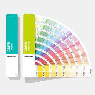 Pantone CMYK Color Fan Guide Coated & Uncoated GP5101A (Latest 2019 Ed.)