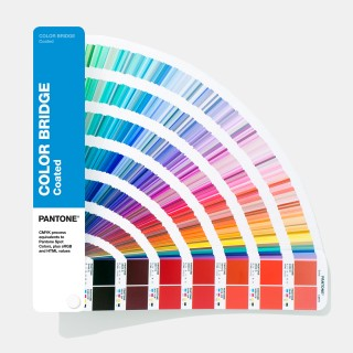 Pantone Color Bridges Coated Fan Guide GG6103A (Latest 2019 Ed.)
