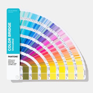 Pantone Color Bridges Uncoated Fan Guide GG6104A (Latest 2019 Ed.)