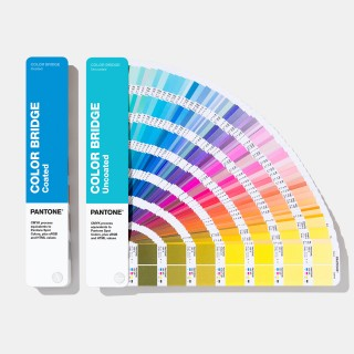 Pantone Color Bridge Guide Set | Coated & Uncoated GP6102A (Latest 2019 Ed.)