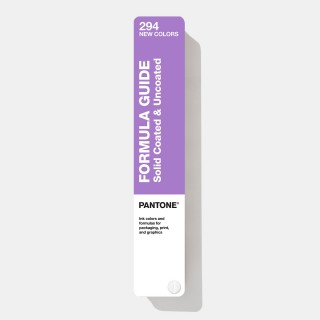 Pantone Formula Guide Supplement | Coated & Uncoated GP1601A-SUPL (Latest Ed.)