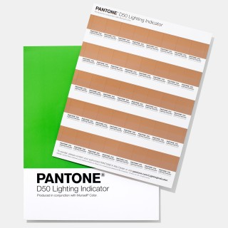 Pantone Lighting Indicator Stickers D50 LNDS-1PK-D50 (Latest Ed.)