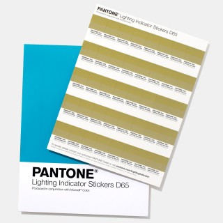Pantone Lighting Indicator Stickers D65 LNDS-1PK-D65 (Latest Ed.)