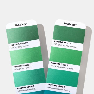 Pantone Metallic Coated Color Fan Guides GG1507A (Latest 2019 Ed.)