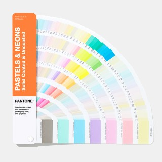 Pantone Pastel & Neon Fan Guide Coated & Uncoated GG1504A (Latest 2019 Ed.)