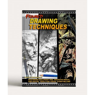 Framed Drawing Techniques: Mastering Ballpoint Pen, Graphite Pencil, and Digital Techniques for Visual Storytelling